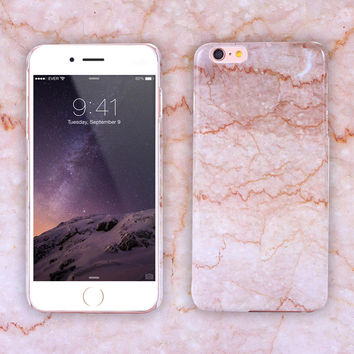 Marble Print Phone Case for iPhone 7 se 5s 6 6s Plus + Gift Box