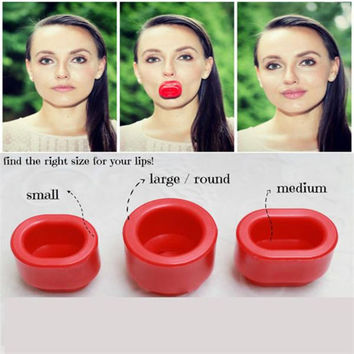 New Lip Plumper Enhancer Full Plumping Womens Beauty Plump Tool