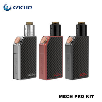 100% Original GEEKVAPE Mech Pro Kit with 3ml Medusa RDTA Tank Mech Pro Box Mod Vape Power By Replacement 18650 Battery