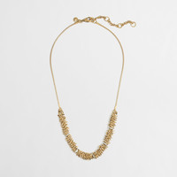 Factory golden cluster necklace : Women | J.Crew Factory