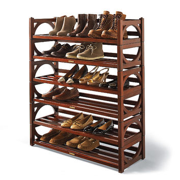 Heritage Stacking Shoe Rack