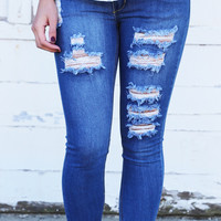 Coachella Distressed Skinnies