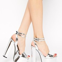 ASOS | ASOS HEAD FIRST Heeled Sandals at ASOS