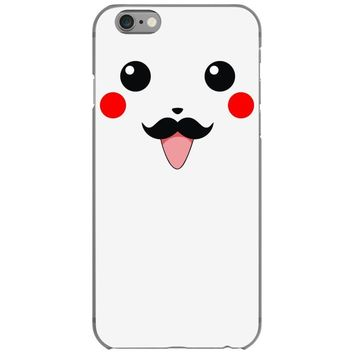pikachu moustache iPhone 6/6s Case