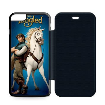 Disney Tangled Cover Leather Wallet Flip Case iPhone 6 Plus | 6S Plus