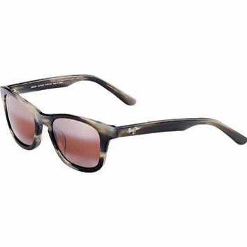 Maui Jim Ka'a Point R713-27 Charcoal Polarized Sunglasses