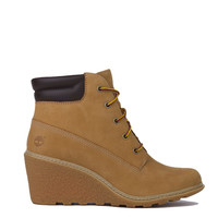 Timberland Amston 6 Inch Wedge Boots - Wheat Nubuck