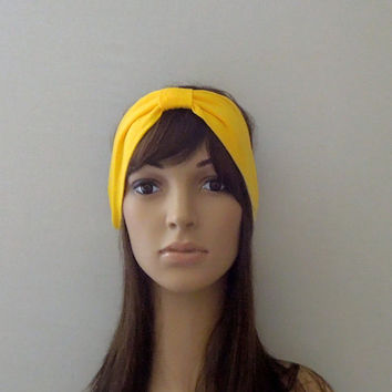 Yellow Turban Headband