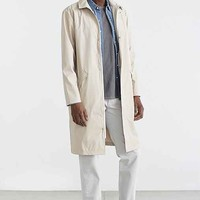 RAINS Long Mac Coat- Tan