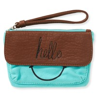 Happy Face Wristlet
