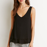 Layered Knit Tank