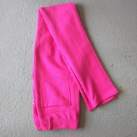 Pink Stretch Pants