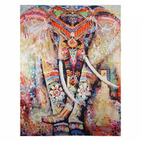 Radiant Elephant Tapestry
