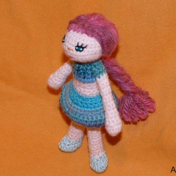 Amigurumi crochet  doll SHIRLEY
