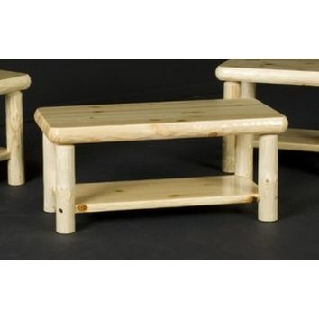 Viking Northern Exposure Coffee Table With shelf