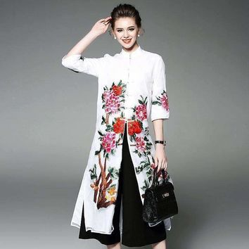 Dress Runway floral Embroidery Ukraine Party Womens Beach Dresses