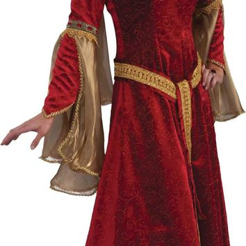 Scarlet Renaissance Adult 18-2 Halloween Costumes