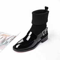Givenchy Women popular Boots popularable Casual leather Breathable Sneakers Running Shoes Sneakers
