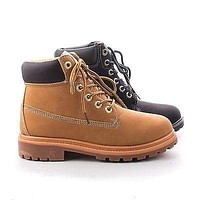 Terrain By Nature Breeze, Round Toe Lug sole Lace Up Ankle Cuff Women's Boots