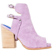 The Spruce Bootie in Lilac Suede
