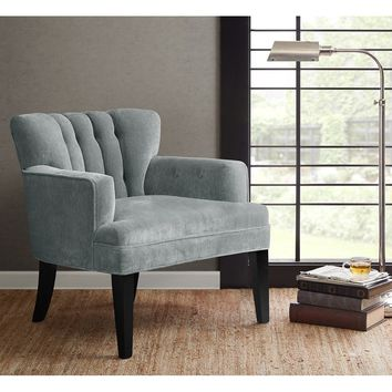 Avenue Upholstered Grey Chair