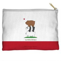 We Bare Bears Cali Bears Accessory Pouch | CartoonNetworkShop.com