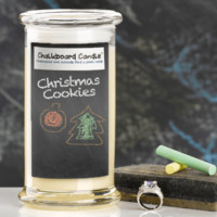 Christmas Cookies Chalkboard Jewelry Candle