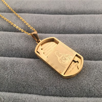 Shiny New Arrival Gift Jewelry Stylish Hot Sale Fashion Hip-hop Club Necklace [6542739907]