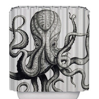 Octopus Shower Curtain hot selling, size option available