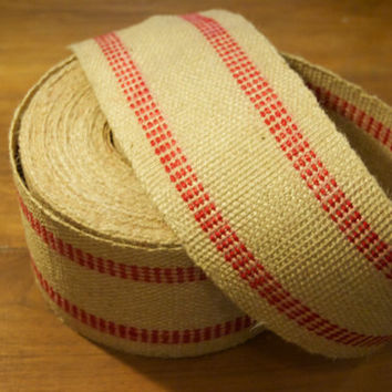 Upholstery Jute Webbing by the yard 3.5 inch