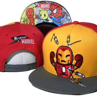TokiDoki Marvel Iron Man Snap-back Cap for Adults