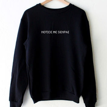 Notice Me Senpai Oversized Sweater