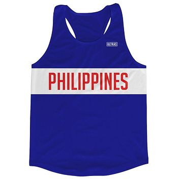 Philippines Running Tank Top Racerback Track and Cross Country Singlet Jersey