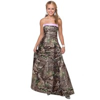 Realtree ® Camo Gowns | Camo long Dresses | Free Shipping