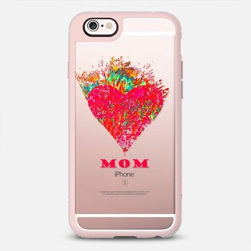 heart mom iPhone 6s case by Marianna | Casetify