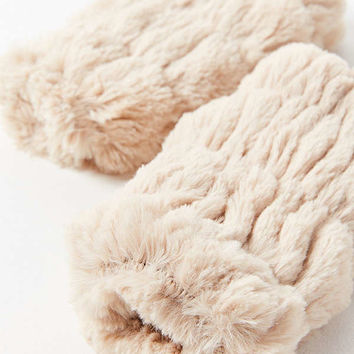Faux Fur Fingerless Glove | Urban Outfitters