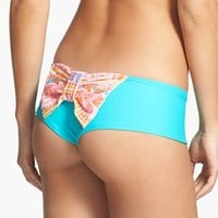 Lolli Swim 'Amante' Bow Back Seamless Bikini Bottoms