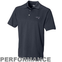 Cutter & Buck New England Patriots Game Point Performance Polo - Navy Blue
