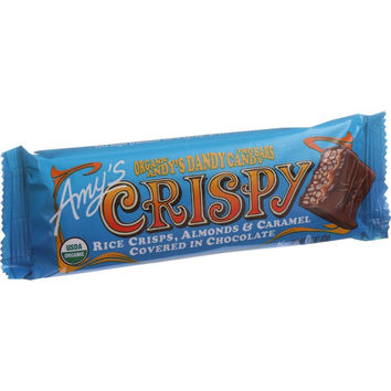 Amy's Organic Andy's Dandy Candy Bar - Crispy - 1.5 Oz Bars - Case Of 12
