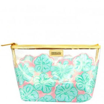 Simply Southern Hibiscus Beach Bag-Teal