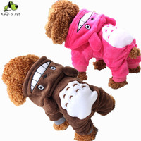 100% Cotton Pet Dog Hoodie Dogs Size XS-XXL
