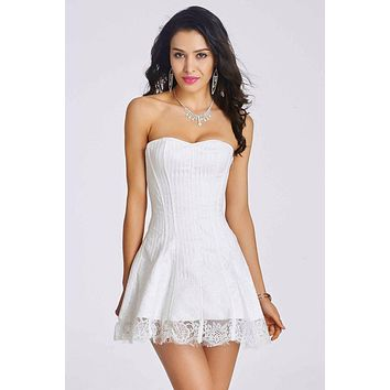 New sexy lace corset Dresses Party Dress