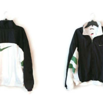 Vintage NIKE windbreaker jacket coat lined size Large