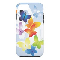 Colorful Butterflies iPhone 7 Case
