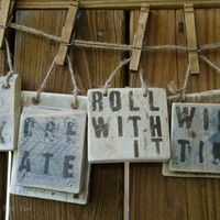 Recycled Pallet Wood Signs