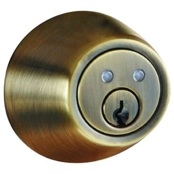 Morning Industry Inc Rf Remote Control Dead Bolt (antique Brass)