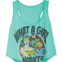 DC Comics What A Girl Wants Tank