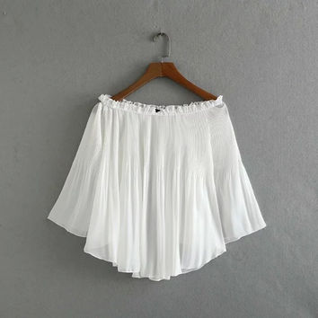 Summer Women Chiffon Top [7278922503]