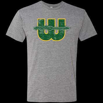 Retro 1970s Hartford Whalers Men's Triblend T-Shirt