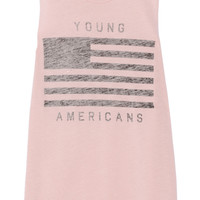 Zoe Karssen Young Americans cotton and modal-blend top – 50% at THE OUTNET.COM